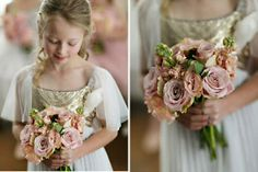 These pinks are perfect for the flowers!! Maybe with a few darker just to make it a little bolder.