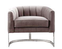 Esszimmerstuhl In Creme Weiss Stoff Armlehnen Dining Chairs Home Decor Furniture