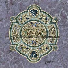 Celtic Shields & Mandalas : Celtic Shield of Grace by Jeff Fitzpatrick Adams Celtic Symbols, Celtic Art, Celtic Shield, Celtic Culture, Medieval, Book Of Kells, Irish Celtic, Love Illustration, Effigy