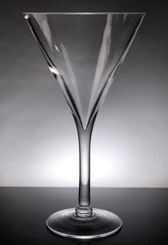 Martini Glass Vases 12 in.