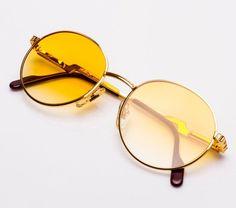 Metro Boomin For Vintage Frames 24kt Gold Sunglasses