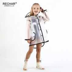 Doubmall Transparent Raincoat for Kids Hooded Rain Jacket Age 18 Cute Childs Lightweight Outdoor Rain Wear Slicker with Tassel for Boys for Girls … -- Inspect this amazing item by mosting likely to the link at the picture. (This is an affiliate link). Girls Raincoat, Hooded Raincoat, Dresses Kids Girl, Girl Outfits, Fashion Outfits, Baby Girl Fashion, Fashion Kids, Transparent Raincoat, Baby Dress Design
