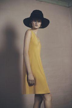 Fringe Hat and Leora Dress | Samuji Pre-Fall 2015 Collection - http://www.samuji.com/products
