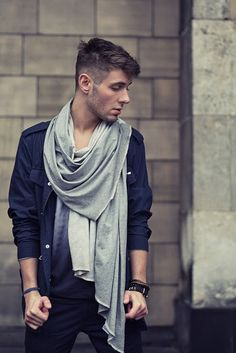 Rebel fashion style: Grey day