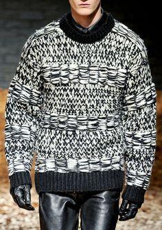 McQ F/W 2012 High Street Fashion, Street Style, Sweater Cardigan, Men Sweater, Wool Sweaters, Mens Fashion, Breien, Sweater, Moda Masculina