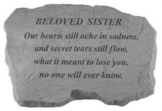 Sympathy Gift for the Loss or Death of a Sister