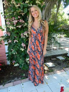 Perfect Maxi Dress for Summer! Only at Whimsy!