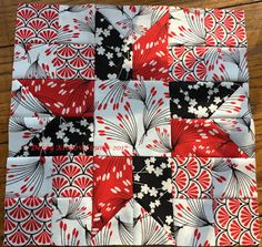 """Hi! Debby here with Week #3 Block in the """"Everyone's a Star Quilt Along."""" I chose the beautiful Moon Flower collection. I'll just quote th..."""