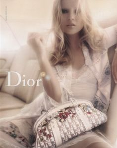 Kate Moss for Dior S/S 2005 Campaign