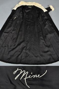 1960s Broadtail + Mink Maxi Coat | BUSTOWN MODERN