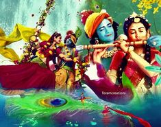Image may contain: 4 people, text that says 'foramcreations' Lord Krishna Images, Radha Krishna Pictures, Radha Krishna Photo, Krishna Photos, Shree Krishna, Krishna Art, Radhe Krishna, Story Of Krishna, Happy Holi Images