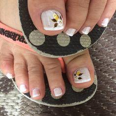 Unhas do Pé Decoradas 2203,  #unhasbonitas #UnhasDecoradasSimples #UnhasLindas, Nail Tips, Workout, Nails, Toe Nail Art, Nail Arts, Pretty Pedicures, Nail Art Designs, Perfect Nails, Pretty Nails