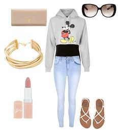 """""""Untitled #18"""" by ambyrlyn on Polyvore featuring T By Alexander Wang, Topshop, Glamorous, Billabong, Prada, Gucci, Rimmel and BCBGMAXAZRIA"""