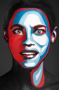 - make-up artist Valeriya Kutsan & photographer Alexander Khokhlov