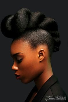 Crowning Glory. Black Hair Updo Hairstyles, Natural Afro Hairstyles, African Hairstyles, Natural Hair Updo, Natural Hair Styles, Natural Hair Care, Curly Hair Styles, Hair A, Hair Type