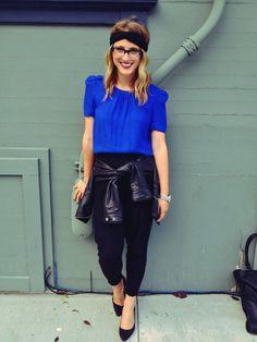 Turband: F21   Blouse: Zara   Pants: F21   Jacket: F21   Shoes: H&M