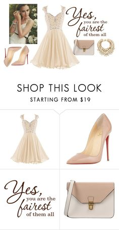 """luscious lips, curvy hips"" by lilycollinschic ❤ liked on Polyvore featuring Christian Louboutin, 8, Kate Spade and Pink"