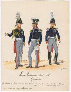 Armée Prussienne, 1814-1815; Généraux