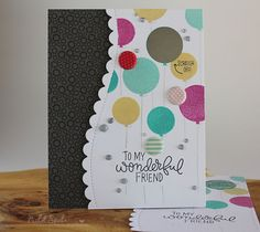 Simon Says Stamp September Card Kit | Friend Birthday Scratch Off Card!