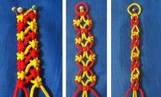 10 видов цепочки в технике макраме