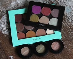 NABLA Cosmetics Eyeshadow – Mega swatch!