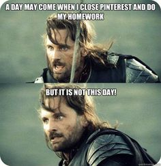 LOTR Not this day