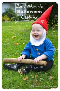 Quick and Easy Garden Gnome Halloween DIY Costume Idea Perfect for Babies and Toddlers!  sc 1 st  Pinterest & Mario Bros y Luigi costume carnival for kids - Disfraz Mario Bros y ...