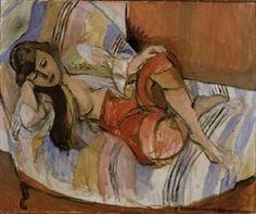Matisse, Henri  Le Cateau-Cambrésis 1869 - Nice 1954       Odalisque  Odalisk  1921