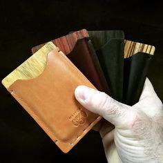 The original 4: Nelligan Dante Eliot and Edgar. #maison630 #madeincanada #handmade #montreal #travel #wallet #cardholder #menstyle #mensstyle #menswear #mensfashion #fashion #style #dapper #accessories #handcrafted #outfit #madeincanada #canada #accessories #travelinstyle #wood #horween #leather #leathergoods Montreal Travel, Travel Style, Dapper, Card Holder, Menswear, Action, Canada, Mens Fashion, Wallet