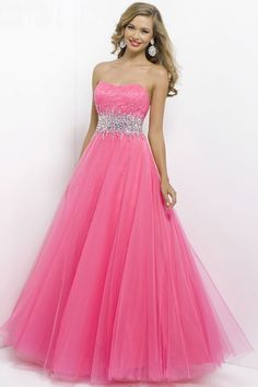 long sweetheart natural waist prom dress $234
