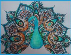 Kuvahaun tulos haulle peacock mandala Peacock Drawing, Peacock Painting, Dot Painting, Fabric Painting, Peacock Decor, Peacock Art, Peacock Feathers, Peacock Tattoo, Peacock Design