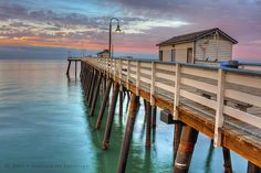 San Clemente Pier and the Fisherman's Restaurant.
