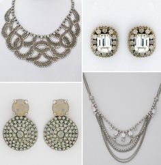Really vintage looking! Sorrelli Jewelry for Your Wedding Day