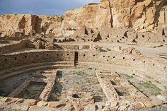 Chaco canyon indian ruins, New Mexico