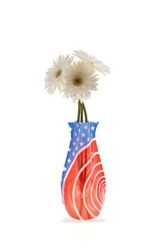 """Expandable flower vase. No assembly required. Just add water to expand. BPA Free.    Measures 10"""" x 6""""   Expandable Flower Vase by Patricia's Presents. Home & Gifts - Home Decor - Vases Ridgefield, Connecticut"""