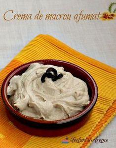 Crema de macrou afumat Fish Recipes, My Recipes, Cooking Recipes, Mousse, Good Food, Yummy Food, Romanian Food, Finger Foods, Sushi