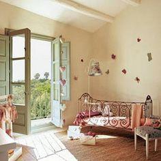 6 preciosas habitaciones de bebés, hoy para niñas.