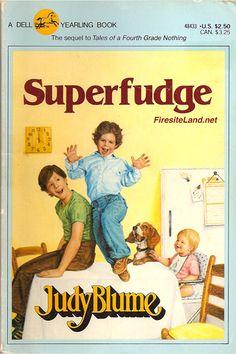 My first Judy Blume Book