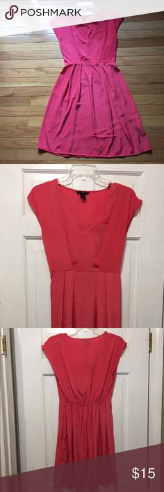 🌼💣 FLASH SALE!! 1H&M Pretty coral/pink dress Pretty coral/pink dress H&M Dresses