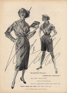 Lord & Taylor Clothing Fashion (1952)