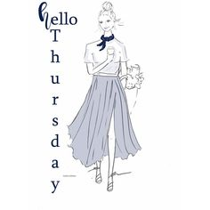 Hello #Thursday ☕️☕️ #coffee #almostfriday #illustration