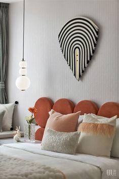GNU新作 | 贵阳万科·新都荟:舒适雅韵 美妙乐章 Estilo Interior, Cool Kids Rooms, Hotel Room Design, Kids Bedroom Designs, Commercial Interior Design, Contemporary Bedroom, Bed Design, Interiores Design, Girl Room