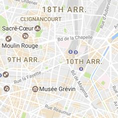 paris tourist map useful interactive map of paris