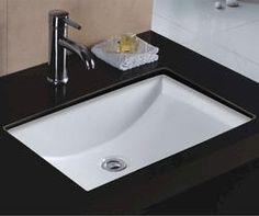 undermount rectangular bathroom sink. Wells Sinkware 22\ Undermount Rectangular Bathroom Sink