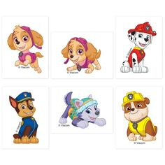 Paw Patrol Tattoos tattoos *Each tattoo measures x 2 *Great for party favors and prizes 1000 Books Before Kindergarten, 12 Tattoos, Birthday Tattoo, Loot Bags, Paw Patrol Birthday, Birthday Party Favors, Treat Bags, Temporary Tattoo, Scooby Doo