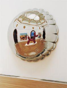 Moon (Silver) by Jeff Koons. Jeff Koons Art, Contemporary Sculpture, Contemporary Artists, Plastic Art, Mirror Art, High Art, Traditional Paintings, Art Plastique, Installation Art