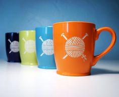 Yarn Mug - Knitting