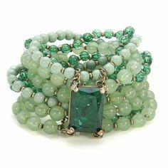 seafoam green bracelet…