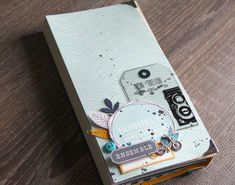 Kit fiche n° 169: album Mon Trésor par Julie Alvarez - swirlcards - le blog