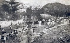 Sugar Cane workers.